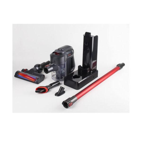 Aspirator vertical reincarcabil Zilan ZLN1099, filtru hepa, perie electrica, autonomie 24 min