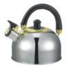 Ceainic din inox cu fluier Zilan ZLN0474, capacitate 2.5 litri