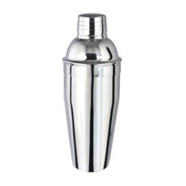 Cocktail shaker Floria, material inox, capacitate 0.5 l, argintiu