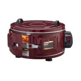 Cuptor electric rotund Zilan XL, 1400 W, capacitate 40 l, 2 trepte temperatura