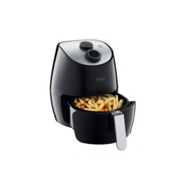 Friteuza Air Fryer Zilan, 1350 W, capacitate 2.6 l, temporizator, cos metal