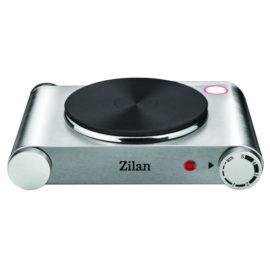 Plita electrica inox Zilan, 1 arzator, 1500 W, termostat reglabil