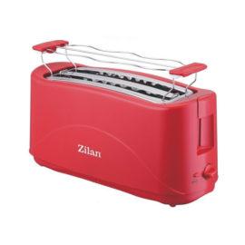 Prajitor paine dublu Zilan, putere 1300 W, 4 felii, rosu