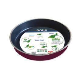 Tava aluminiu teflonata rotunda Floria, diametru 38 cm