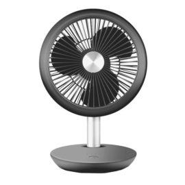 Ventilator reincarcabil Zilan, 5 W, 4 viteze, incarcare USB, Negru
